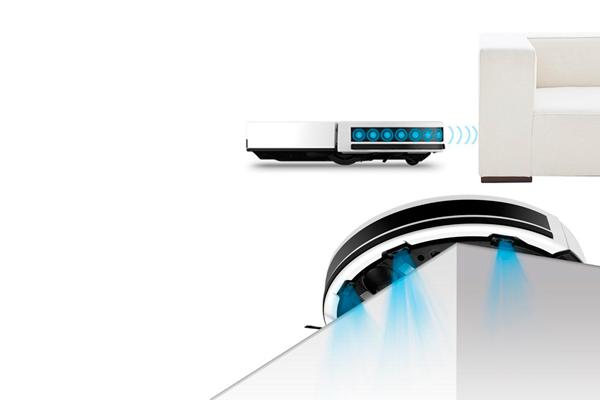 Датчики обнаружения препятствий робота-пылесоса iLife V7s Plus