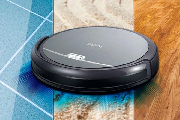 Типы очищаемой поверхности над которыми работают умные пылесосы iLife