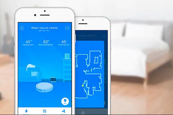 Мобильное приложение для управления умным пылесосом Xiaomi Xiaowa Roborock E352-00 Robot Vacuum Cleaner Lite
