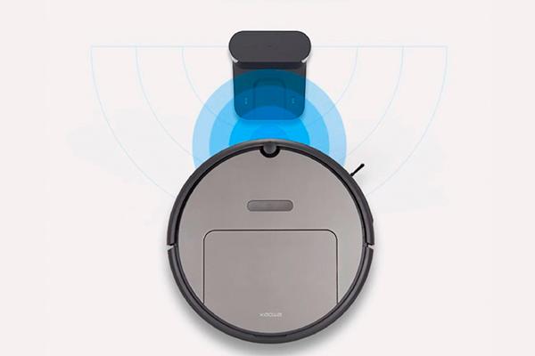 Процесс автоматической зарядки робота-пылесоса Xiaomi Xiaowa Roborock E352-00 Robot Vacuum Cleaner Lite