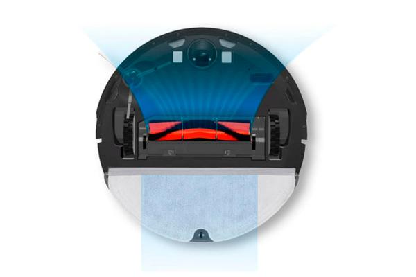 Вид с под низу робота-пылесоса Xiaomi Xiaowa Roborock E352-00 Robot Vacuum Cleaner Lite
