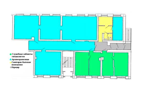 План архивного помещения