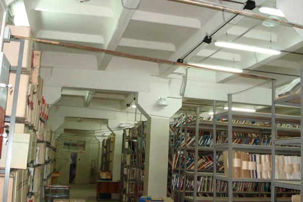 Система газового пожаротушения в архиве