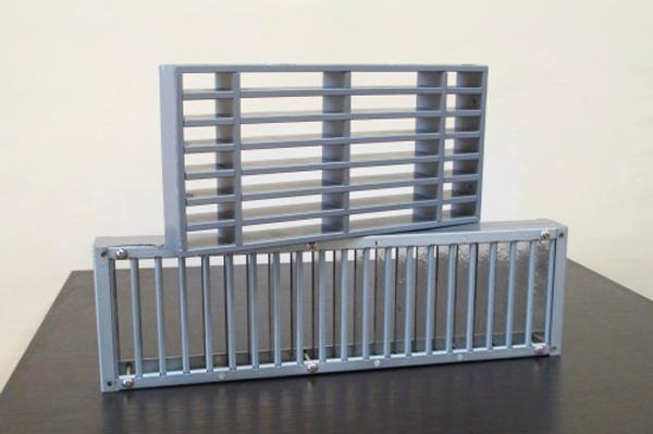 Вентиляционная решетка LVV-40 на противопожарную дверь
