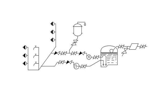 Схема противопожарного водоснабжения