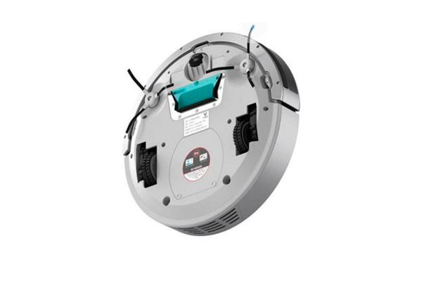 Вид с под низу робота-пылесоса Xiaomi Viomi Internet Robot Vacuum Cleaner VXRS01