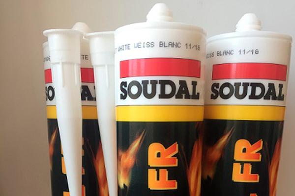 Акриловый огнестойкий герметик SOUDAL Firecryl FR