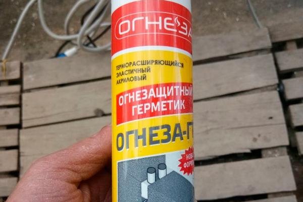 Терморасширяющийся акриловый герметик «ОГНЕЗА-ГТ»