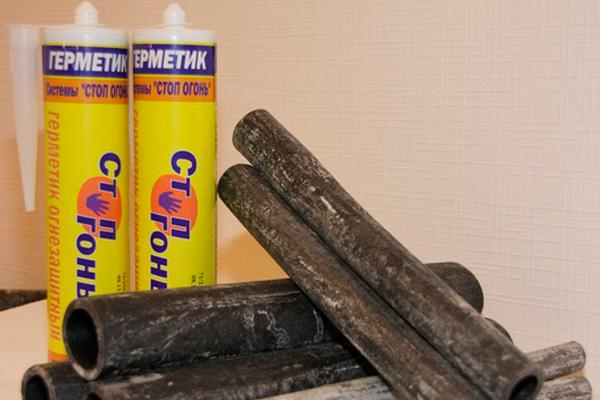 Огнестойкий герметик «Стоп Огонь»