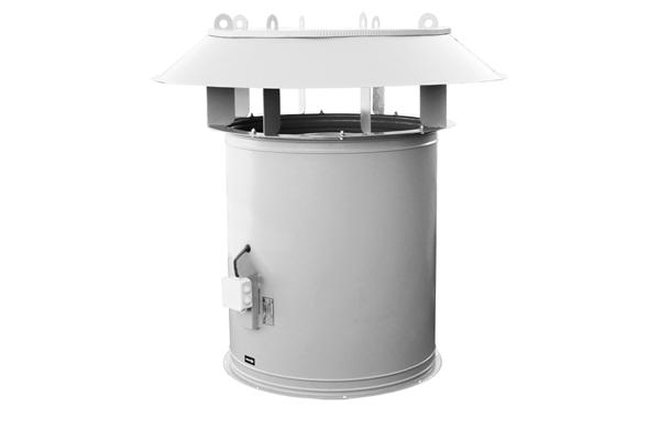 Крышный осевой вентилятор дымоудаления ВКОП 25-188