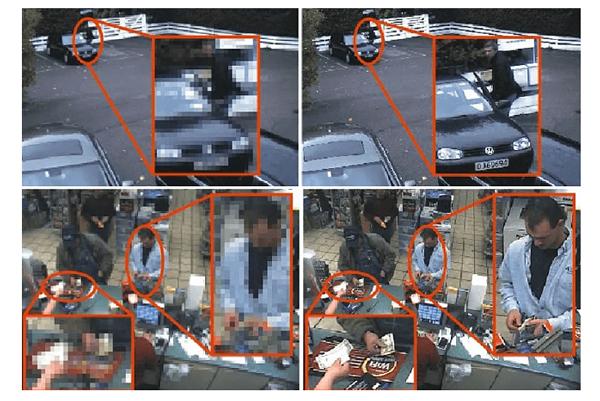 Функция идентификации лиц и автомобильных номеров камер видеонаблюдения