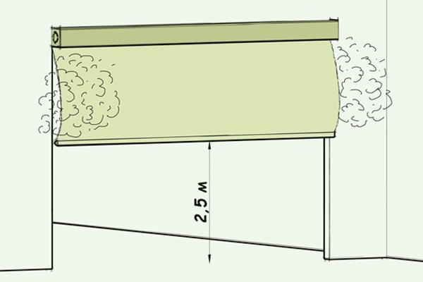 Дымозащитный экран