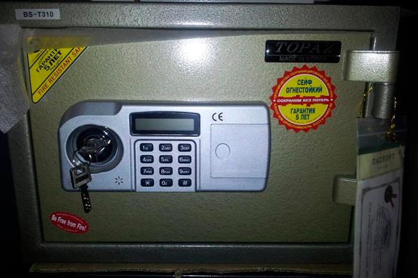 Огнестойкий сейф Topaz BST-310