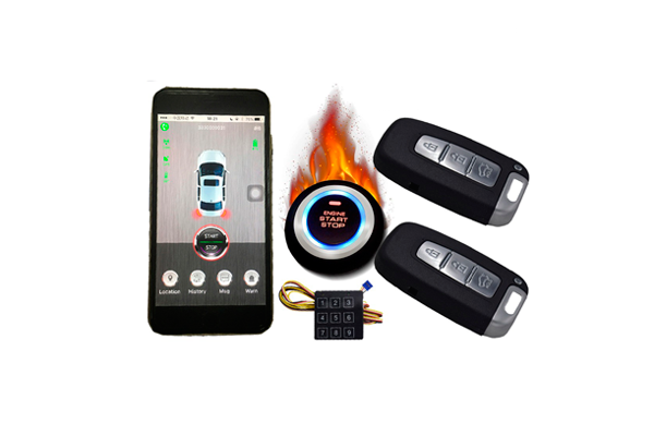 Отслеживание информации об автомобиле с помощью GPS охранной сигнализации