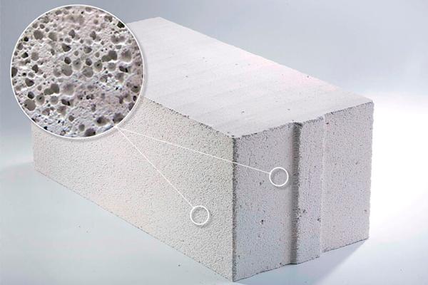 Силикатный вид бетона
