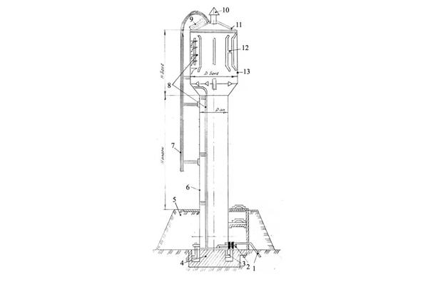 Конструкция водонапорной башни
