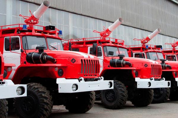 Пожарные машины частной пожарной охраны