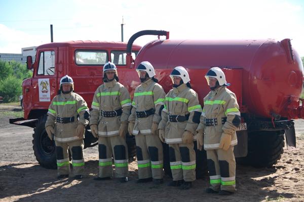 Отряд добровольного пожарного общественного учреждения