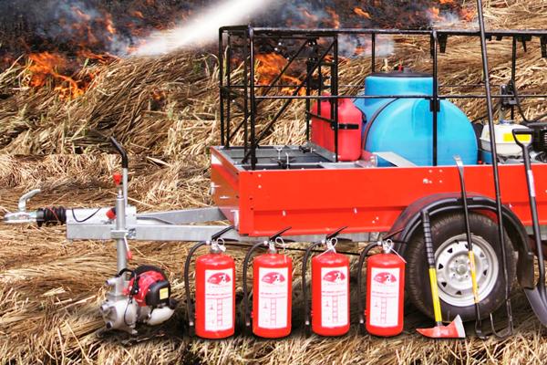 Оборудование для тушения низового лесного пожара