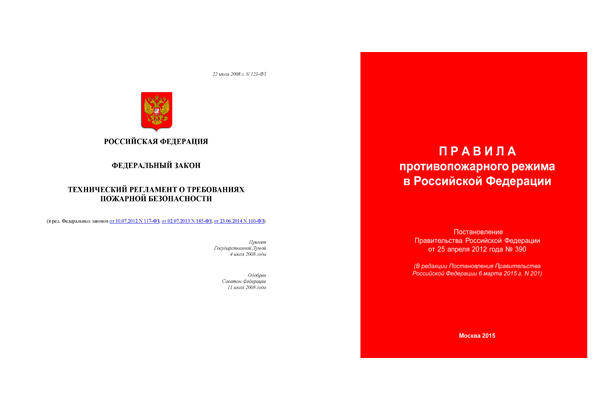 Нормативные документы регулирующие пожарную безопасность в детских садах