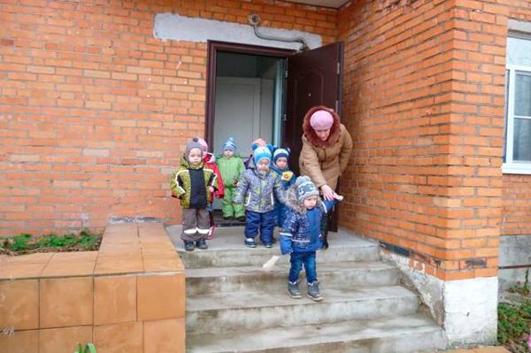Тренировочная эвакуация детей в ДОУ
