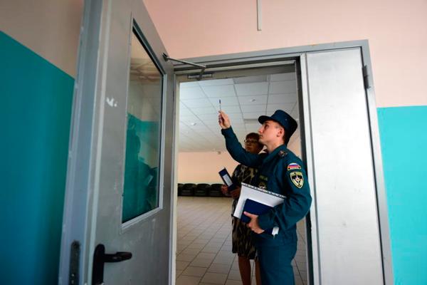 Проверка пожарной безопасности в многоквартирном доме