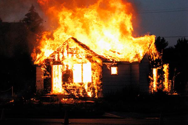стадии пожара