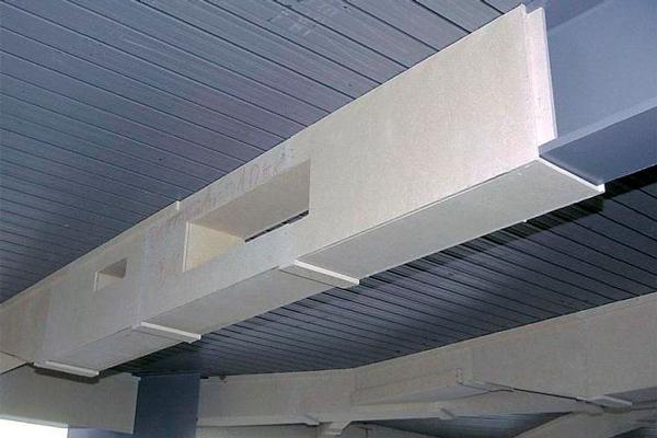Огнезащита металлоконструкций гипсокартоном