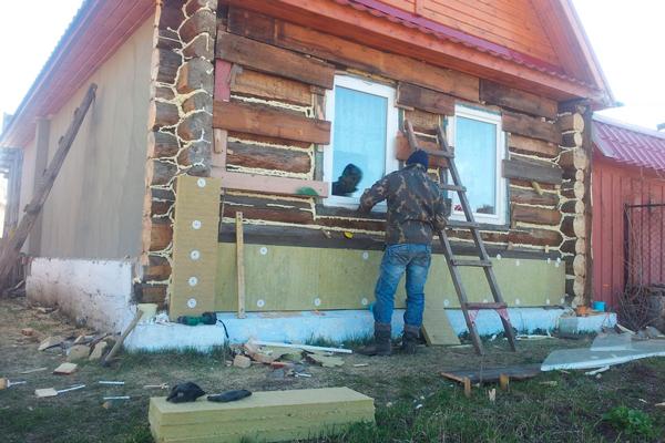 Применение панелей для огнезащиты деревянного дома