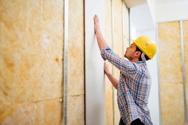 Выравнивание стен с помощью ГВЛ