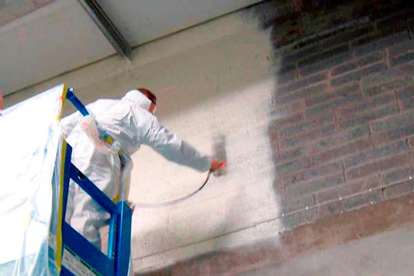 Огнезащитная штукатурка для бетона