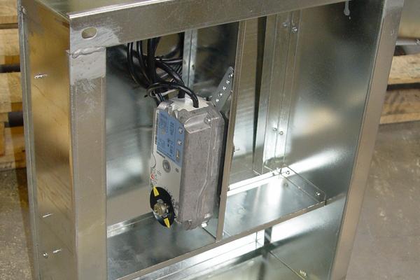 Дымовой огнезащитный клапан КЛД-4