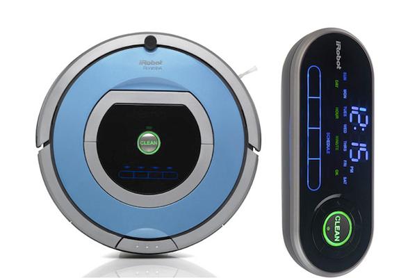 Управление роботизированным пылесосом Irobot Roomba 790 с помощью пульта