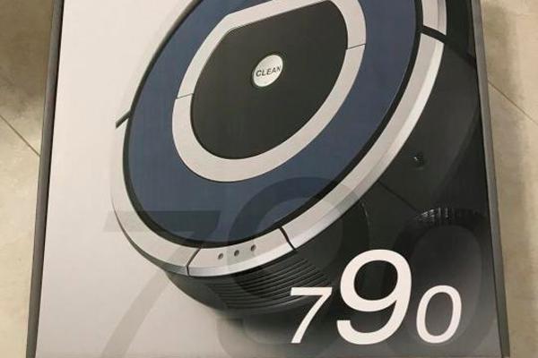 Робот-пылесос Irobot Roomba 790 в коробке