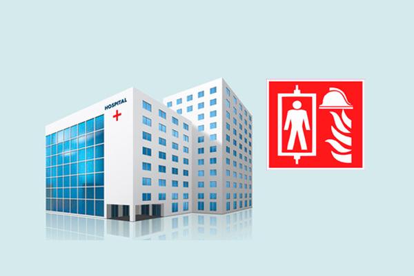 Применение пожарных лифтов в больницах