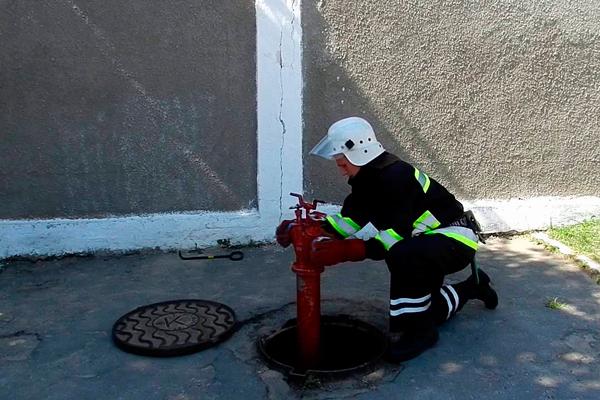Обслуживание пожарной колонки