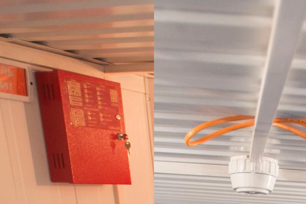 Управление приемно-контрольным прибором С2000-АСПТ аэрозольным пожаротушением