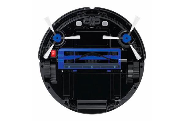 Вид с под низу робота-пылесоса Tefal Smart Force Extreme RG7145RH