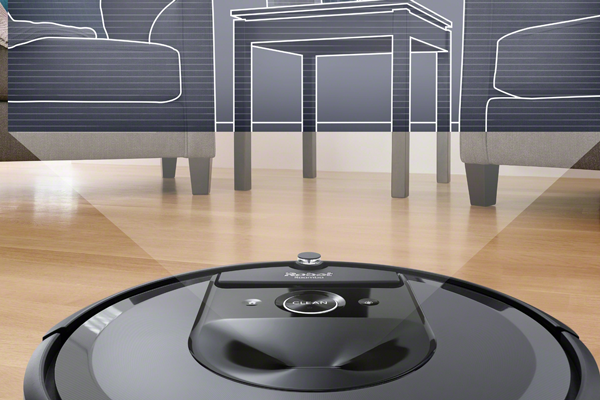 Распознавание объектов роботизированным пылесосом iRobot Roomba i7