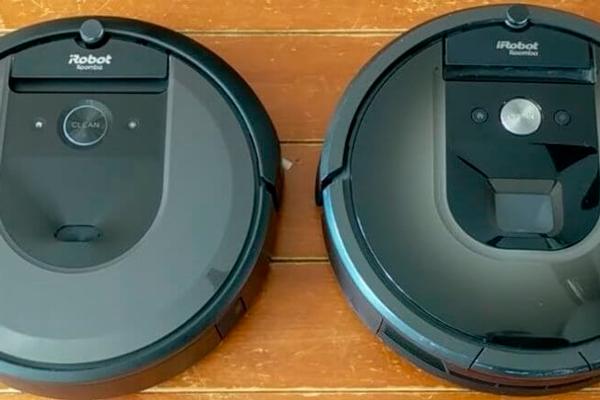 Дизайн роботов-пылесосов iRobot Roomba i7 и Roomba 980
