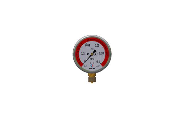 Манометр для измерения объема на баке-дозаторе для пенообразователя