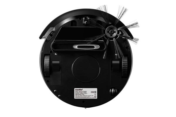 Вид с под низу робота-пылесоса Comfee CFR05