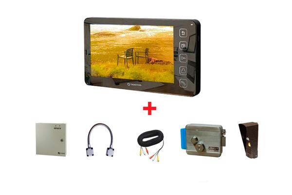 Комплектация координатного видеодомофона Tantos PRIME