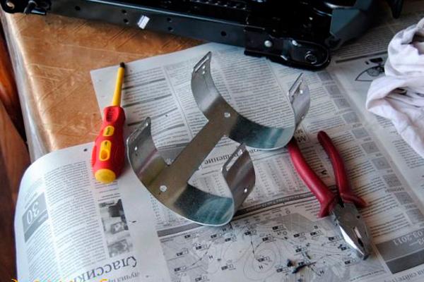 Инструменты для монтажа кронштейна для огнетушителя