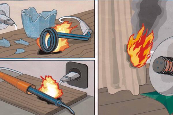 Признание арендатора виновным в пожаре в случае если он неправильно использовал электроприборы