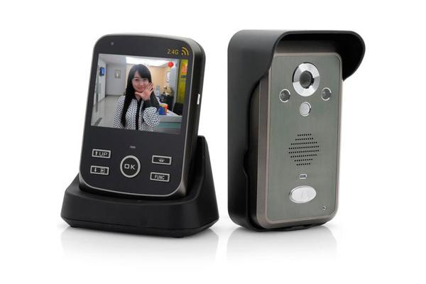 Картинка изображения переносного видеодомофона