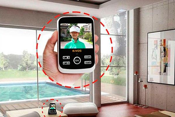 Применение переносного видеодомофона в частном доме