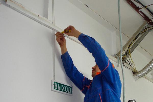 Монтаж пожарной сигнализации для профилактики ПБ