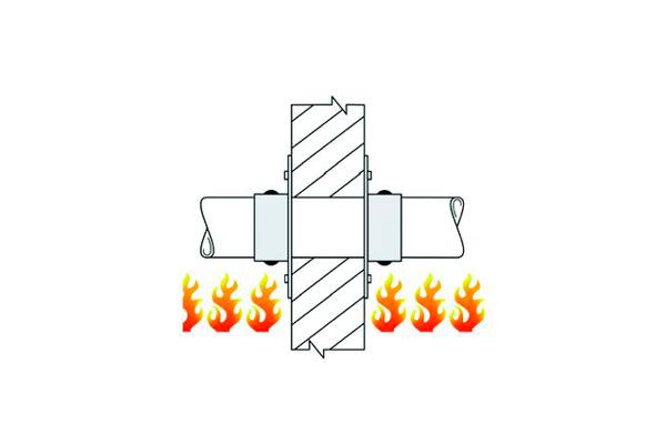 Огнестойкость противопожарной муфты