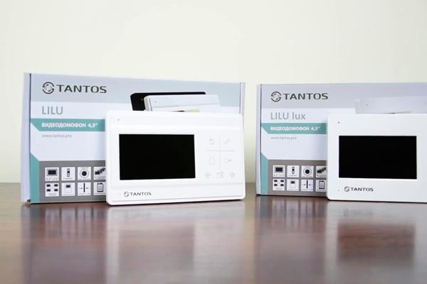 Комплектация видеодомофона Tantos Lilu lux